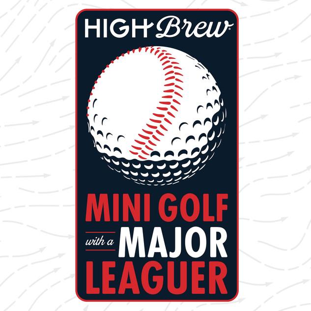 Mini Golf with a Major League •Logo