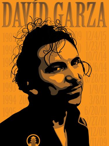 David Garza portrait for Cactus Cafe