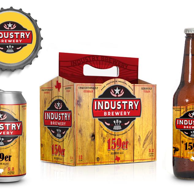 Industry Brewing • Blonde