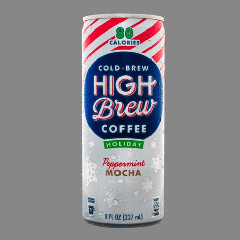 High Brew Coffee Peppermint Mocha
