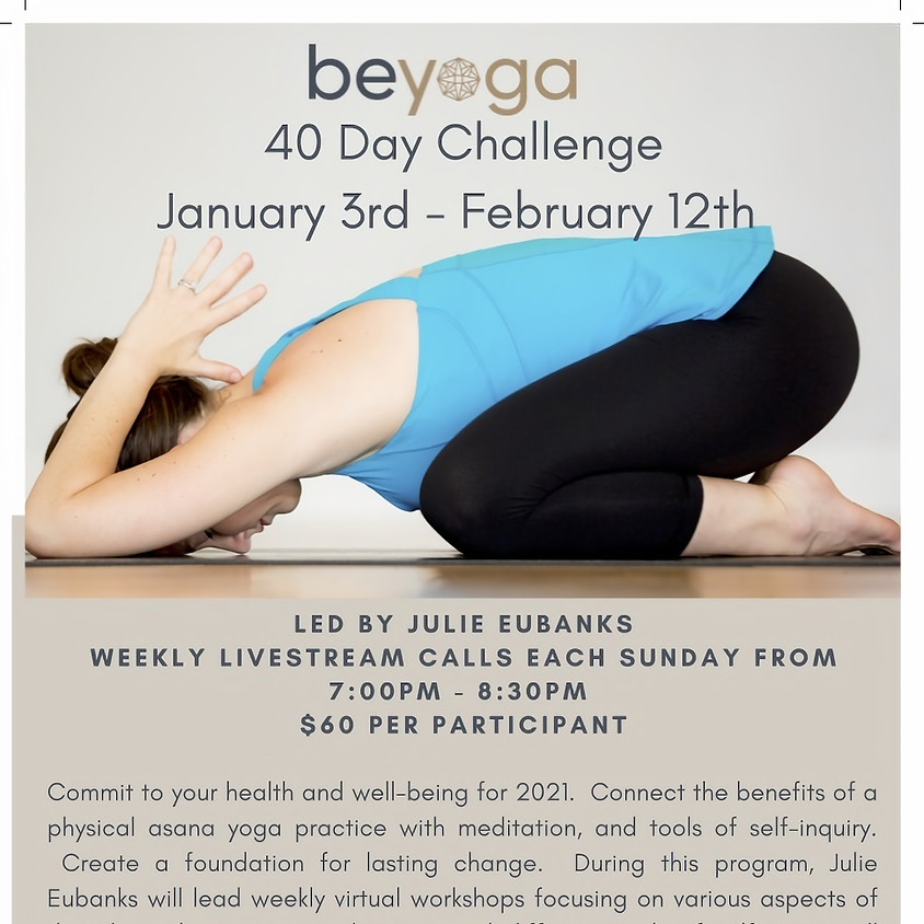 Be Yoga 40 Day Challenge