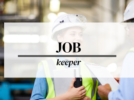 JOB KEEPER EXTENSION TO 28TH MARCH 2021