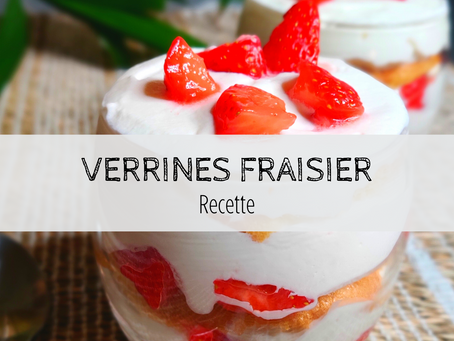 Verrines fraisier