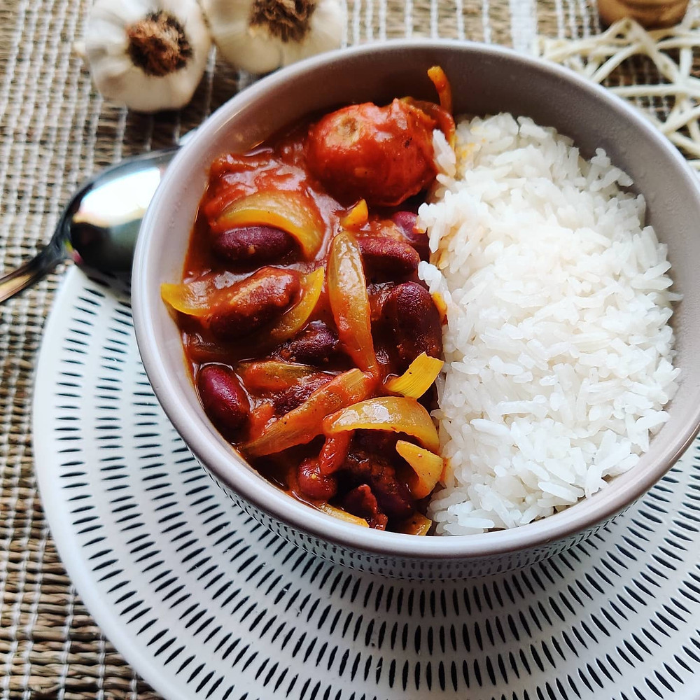 Recette curry haricots rouges