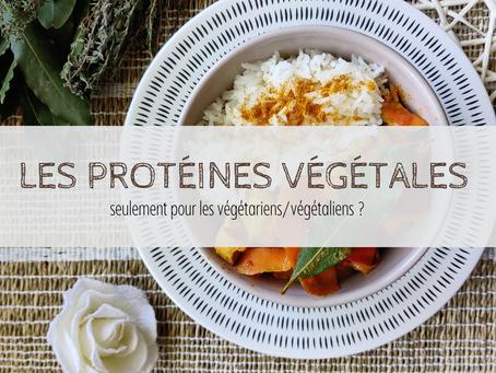 Les protéines végétales : seulement pour les végétariens/végétaliens ?