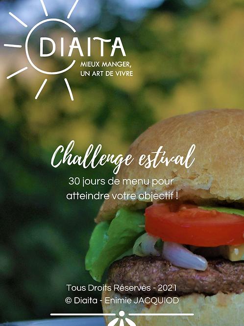 Challenge Estival : 30 jours pour mieux manger !