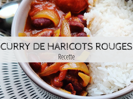 Curry de haricots rouges