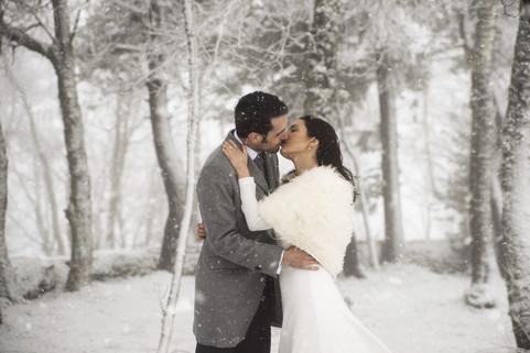 Post Boda en la Nieve - Sara & Pablo