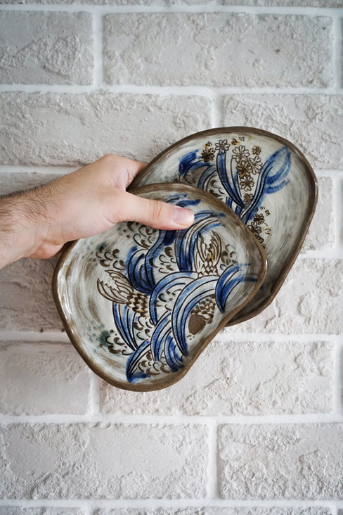 Japanese Carved Plates
