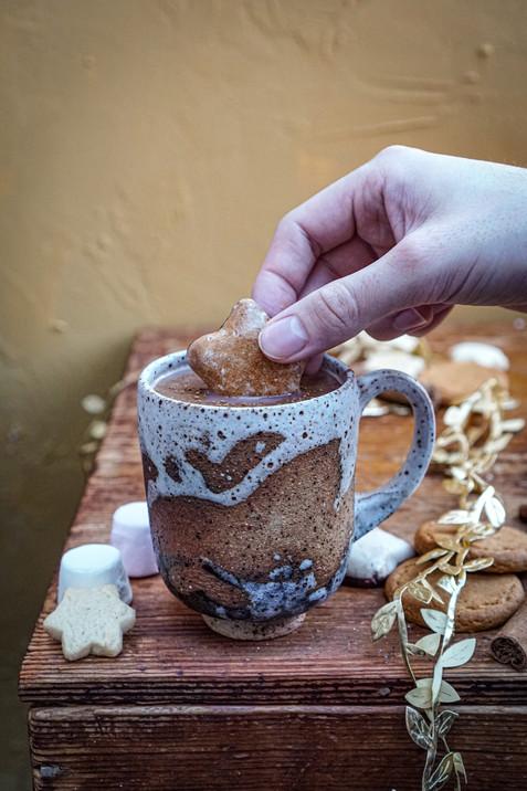 Beach teacup