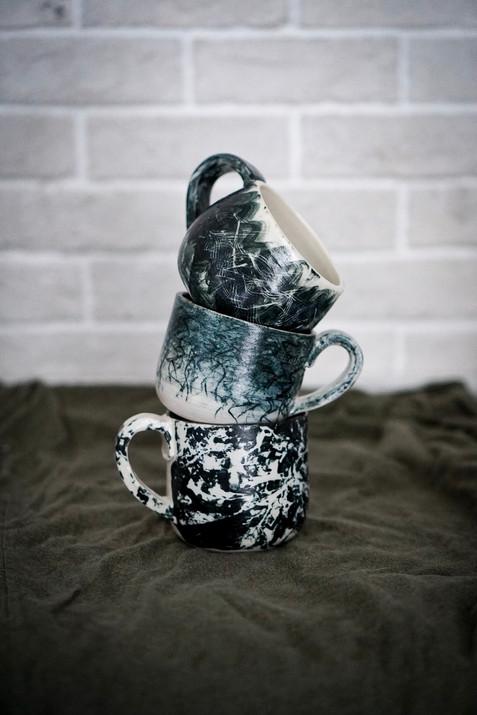 Set of Three Mugs