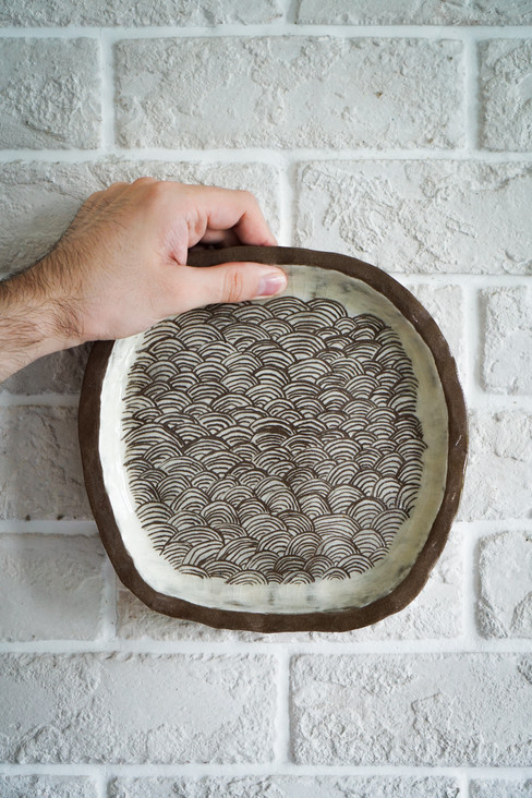 Japanese Plates made in Okinawa