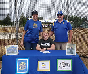 GST 2020 - Anna Signing Cal Poly