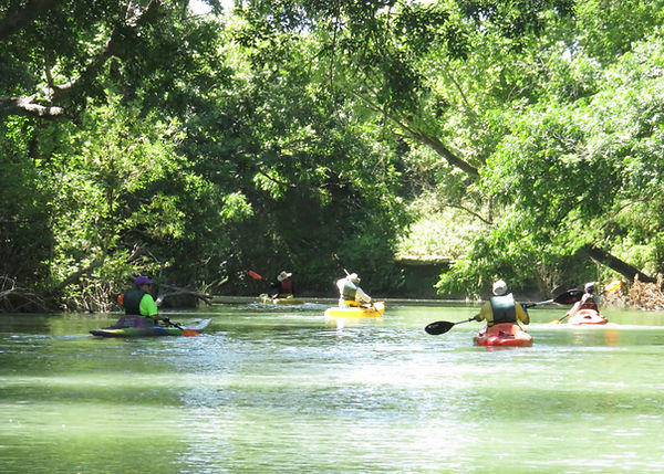 Kayak rentals in Martindale on the San Marcos River