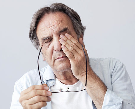 Symptoms of dry eye disease
