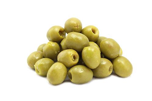 Olives vertes dénoyautées 500g