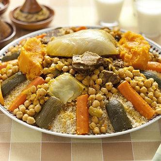 Couscous de Veau (8 pers)