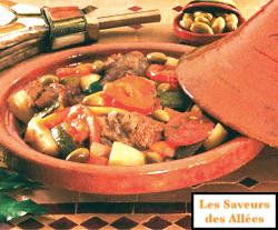 Tajine de Veau aux Légumes (4 pers)