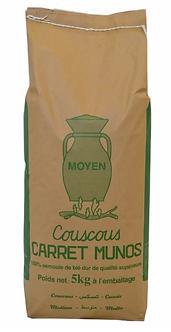 Couscous Moyen Carret Munos 5kg
