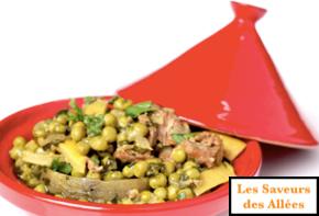Tajine d'Agneau aux légumes (4 pers)