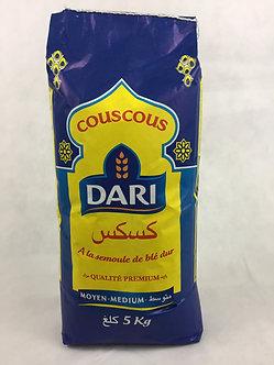 Couscous Dari 5Kg Moyen