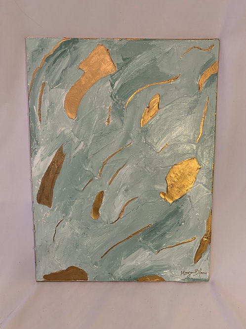 Gilded Waterscape