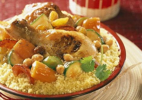 Couscous de Poulet (4 pers)
