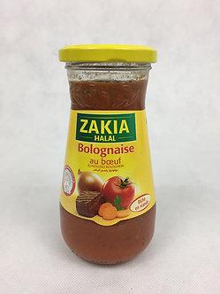 Sauce Bolognaise ZAKIA au boeuf