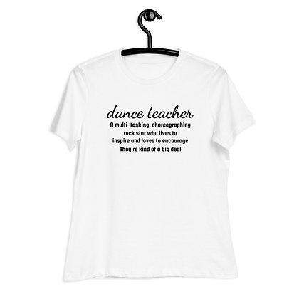 Dance Teacher Tee