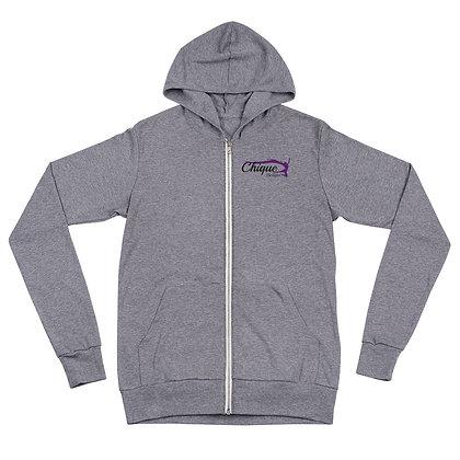 🌟Chique Unisex zip hoodie