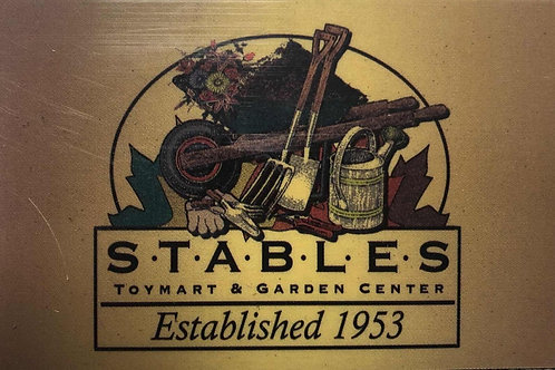 $25 Stables Garden Center Gift Card