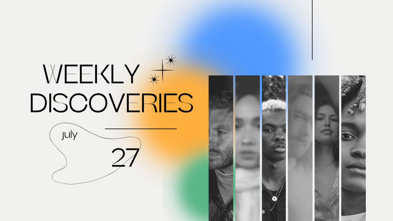 Weekly Discoveries: Your Grandparents, Cal Maro, Koffee & More