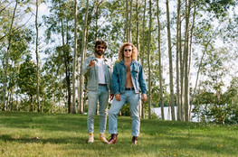 Interview with The Flamingos Pink: Montreal's Shiny Disto Pop Duo