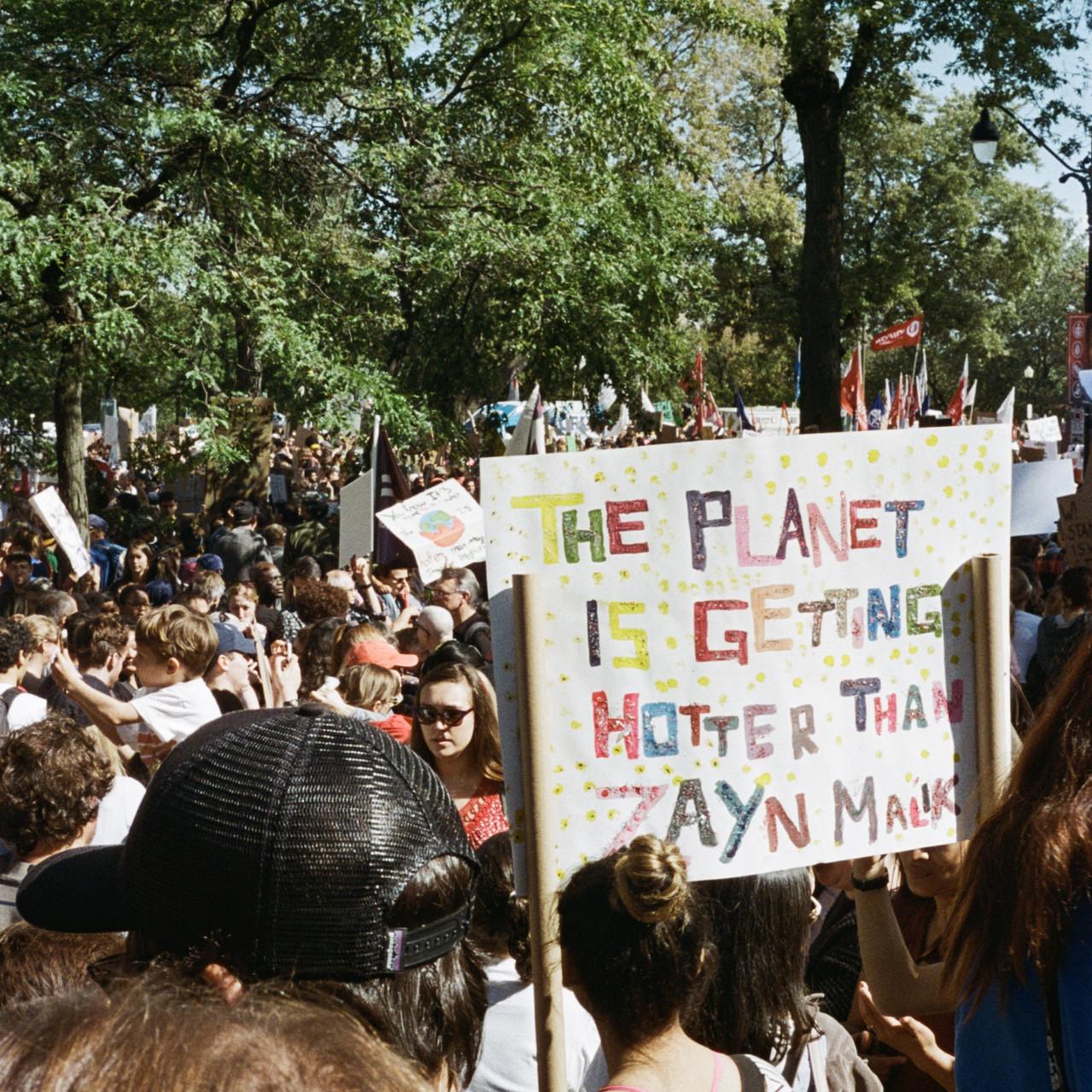 MTL. MARCHE POUR LE CLIMAT
