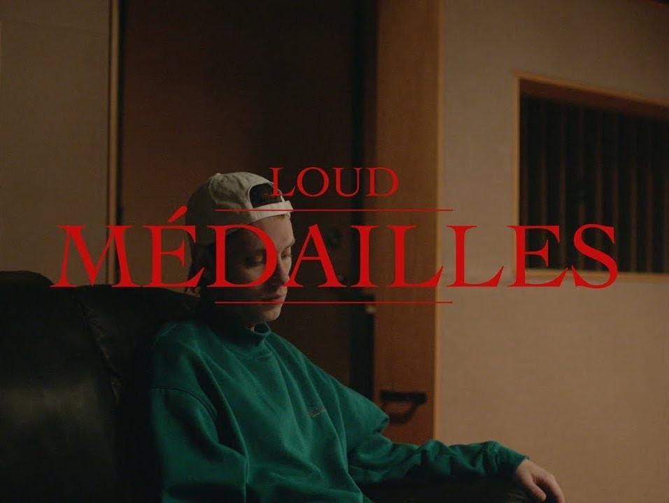 Loud et ses médailles