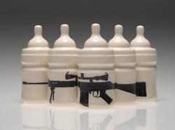 Baby Bottles With Gun