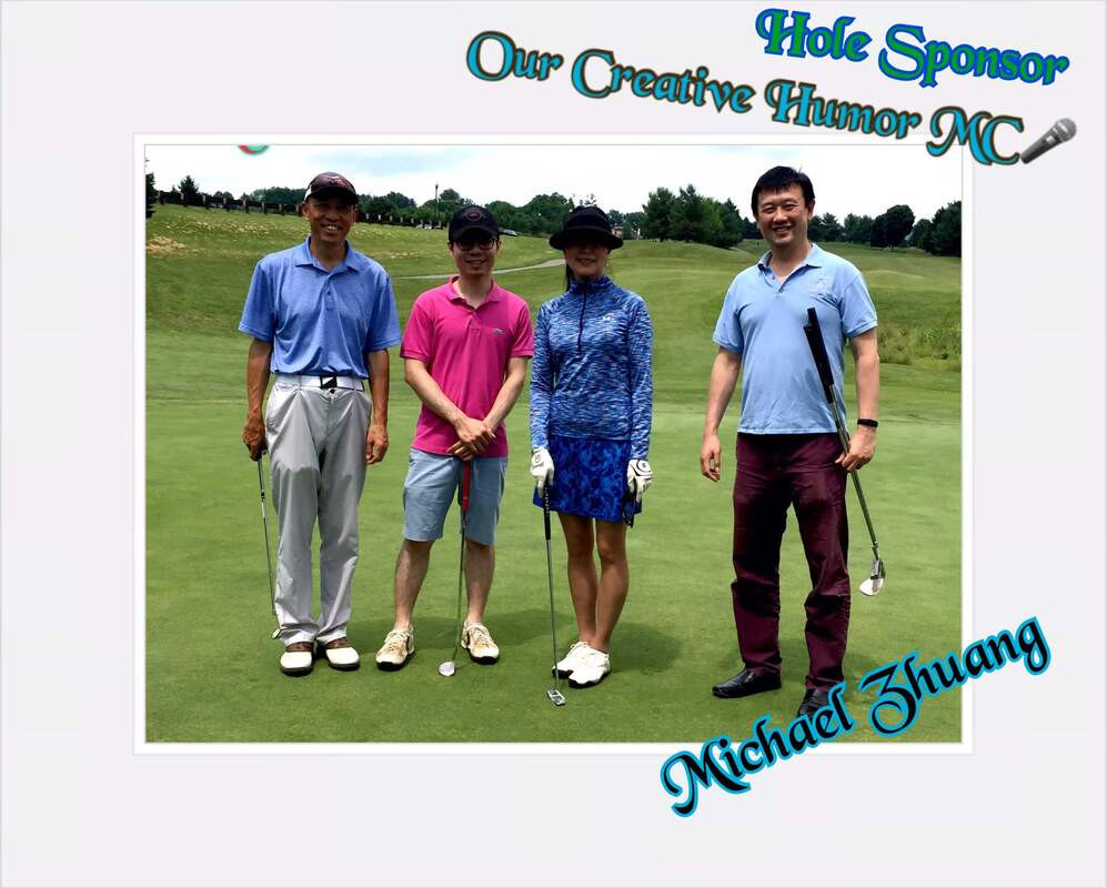 Golf Sponsor - Michael Zh