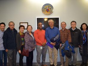 華裔社區代表與蒙郡公共衛生官員見面會