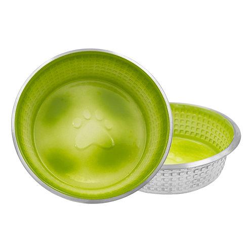 Designer Pixel Paw Bowl (Shellshock Green)
