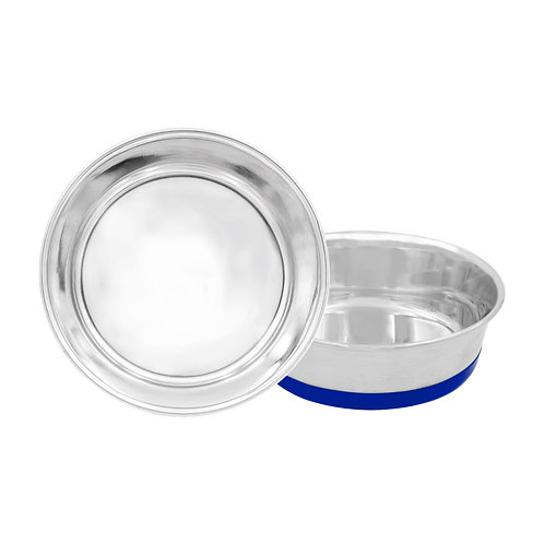 Heavy-Duty Bowl with Bonded Silicone Rubber Base
