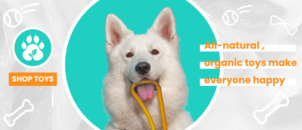 Fuzzy Puppy Pet Products Online Shop - Organic Dog Toys for Aggressive Chewers