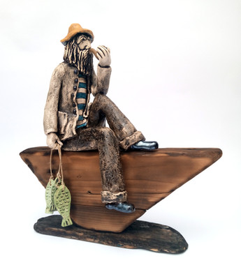 The fisherman after fishing