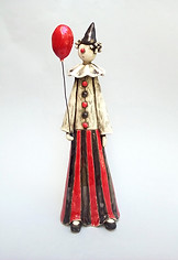 The Red Balloon Clown
