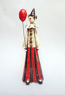 The Red Balloon Clown