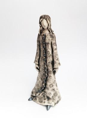 Girl in a long dress