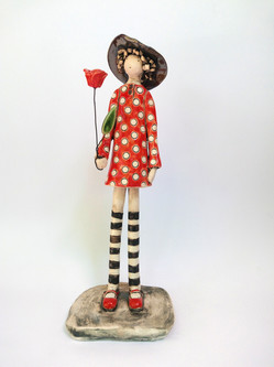 Rosie, The Red Dots Girl
