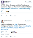 Employee advocacy example - ironSource