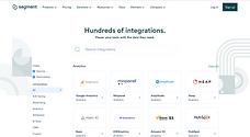Segment integrations catalog