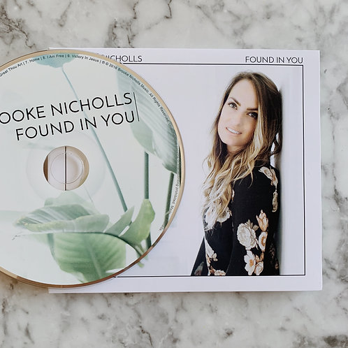 Found In You CD