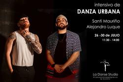 Santi Mauriño y Alejandro Luque Intensivo de Danza Urbana